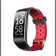 Фитнес-браслет Smart Band Q8 Original Тонометр Красный Гарантия
