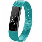 Фитнес-браслет Smart Band Original ID115 Зеленые Гарантия