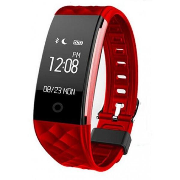 Фитнес-браслет Smart Band Original S2 Пульсометр Красный Гарантия