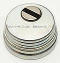 Протектор Azzi Fausto Antitubo 25 мм стандарт никель сатин, фото 5