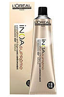 Стойкая краска для седых волос L'Oreal Professionnel Inoa Supreme без аммиака
