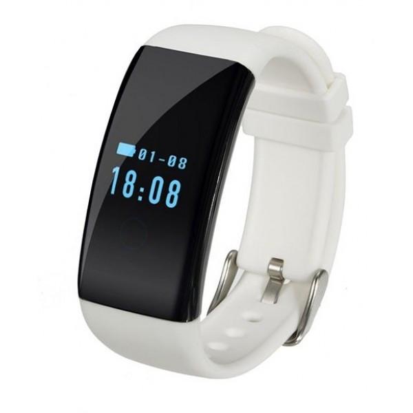 Умный фитнес браслет Smart Band D21 Белый (фитнес трекер пульсометр)