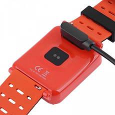 Умный фитнес браслет Smart Band N88 Оранжевый (фитнес трекер, тонометр, пульсометр), фото 3