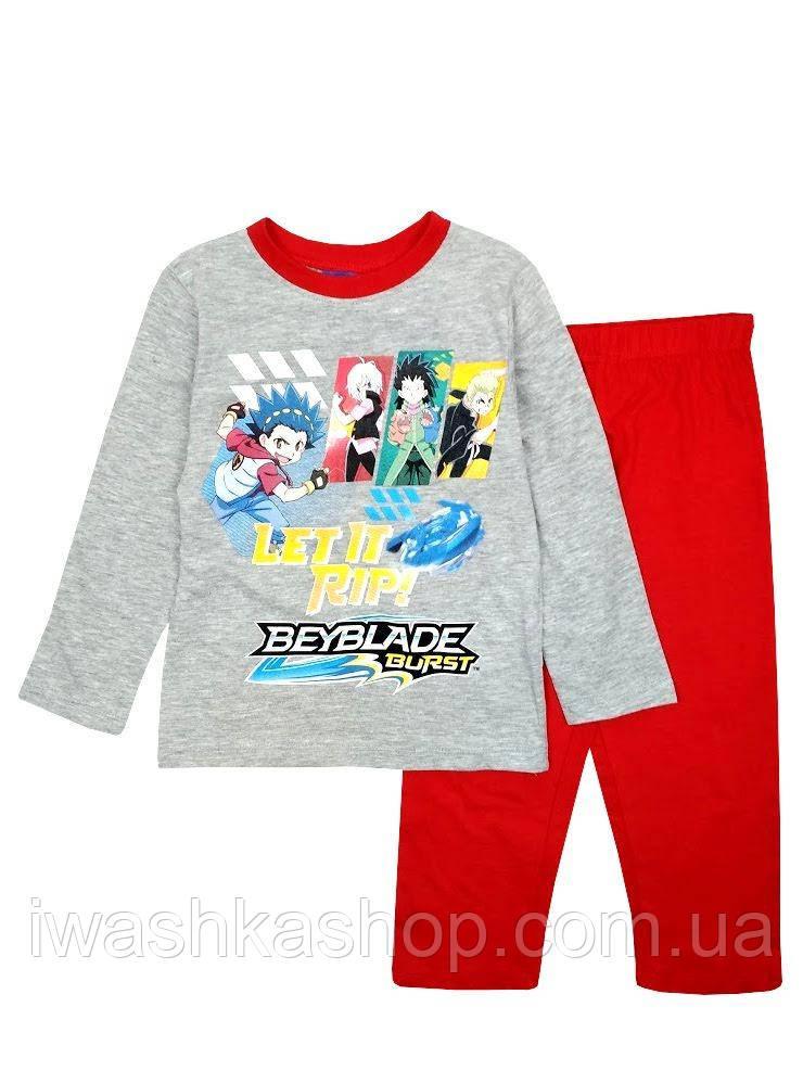 Яркая пижама с Бейблейд на мальчика 3 лет, р. 98, Beyblade Burst / Sun City