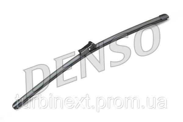 Щітки склоочисника комплект БЕЗКАРКАСНИЙ 630/500 MM / LHD / VOLVO S90 II (16-) / VOLVO V90 II DENSO DF076