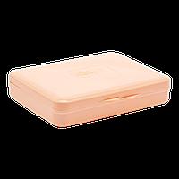 Коробка для гигиенических прокладок оранжевая Irak Plastik