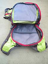 Рюкзак спортивный велосипедный Fleap (15л) красно-черный, фото 3