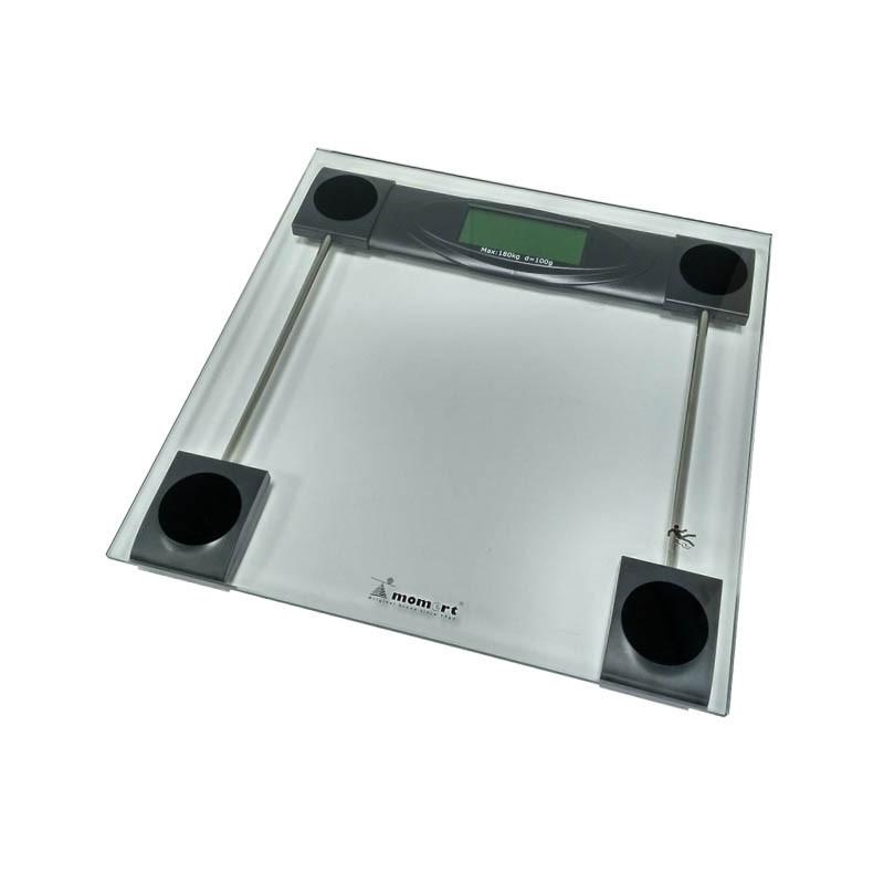 Весы напольные электронные мод. 5873 (стекло, квадрат, до 180 кг.)