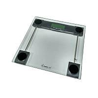 Весы напольные электронные мод. 5873 (стекло, квадрат, до 180 кг.), фото 1