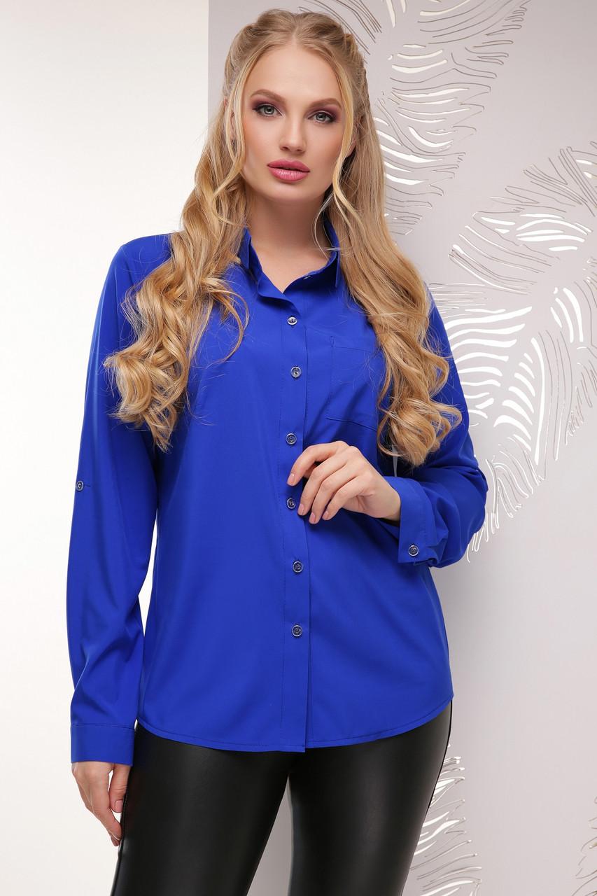 Жіноча повсякденна однотонна блуза