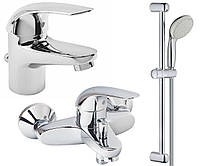 Набор смесителей для ванной Grohe EuroEco 123226S, фото 1