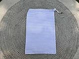 Эко мешок для вещей и продуктов, екоторбинка, хлопковый мешочек многоразовый для хранения 20*30см, фото 5