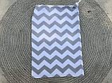 Эко мешок для вещей и продуктов, екоторбинка, хлопковый мешочек многоразовый для хранения 20*30см, фото 6