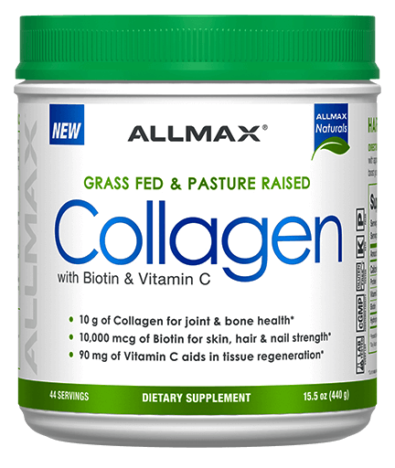 Allmax Collagen with Biotin & Vitamin C 440g