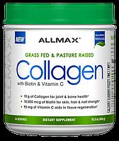 Allmax Collagen with Biotin & Vitamin C 440g, фото 1
