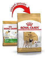 Сухой корм 3 кг для породы Мопс Роял Канин / PUG ADULT Royal Canin