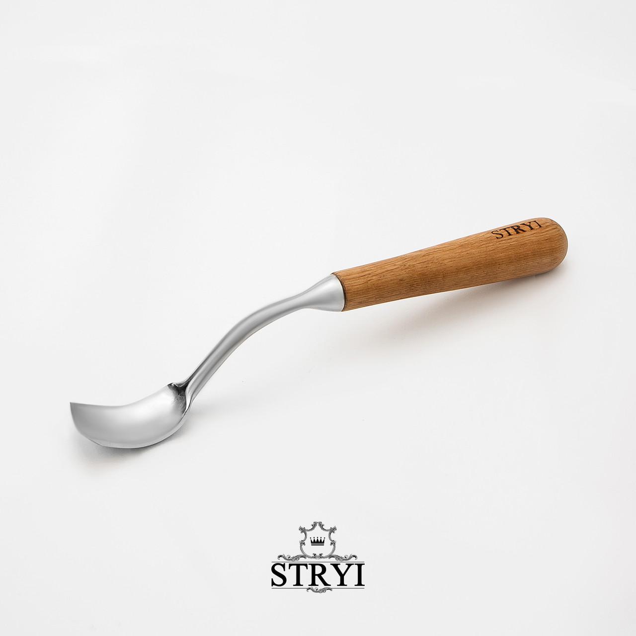 Стамеска-клюкарза вибірка 30мм для різьби по дереву від виробника STRYI