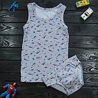 Комплект детский Donella серый для мальчика на 8/9 лет | 1 шт.