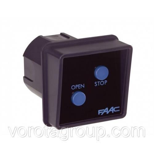 Выключатель клавишный Faac для приводов D1000, D600