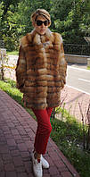 Шуба з лисиці натуральна. , фото 1