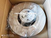 Тормозной диск задний Renault Trafic II (с подшипником)