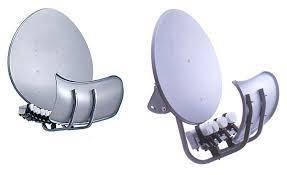 Тороидальная спутниковая двухзеркальная антенна TOROIDAL T90, серая