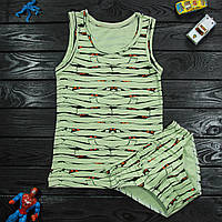 Комплект детский Donella зеленый для мальчика на 2/3 года | 1шт.