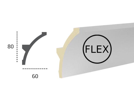 LED профілі Tesori KF 702 Flexi,ліпний декор з поліуретану.