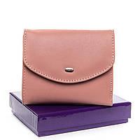 Кошелек женский кожаный розовый Classic DR. BOND WS-4 pink