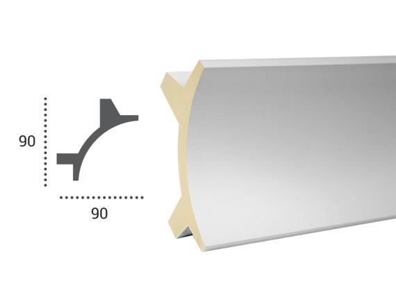 LED профілі Tesori KF 703 ,ліпний декор з поліуретану.