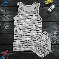 Комплект детский Donella серый для мальчика на 6/7 лет | 1шт.