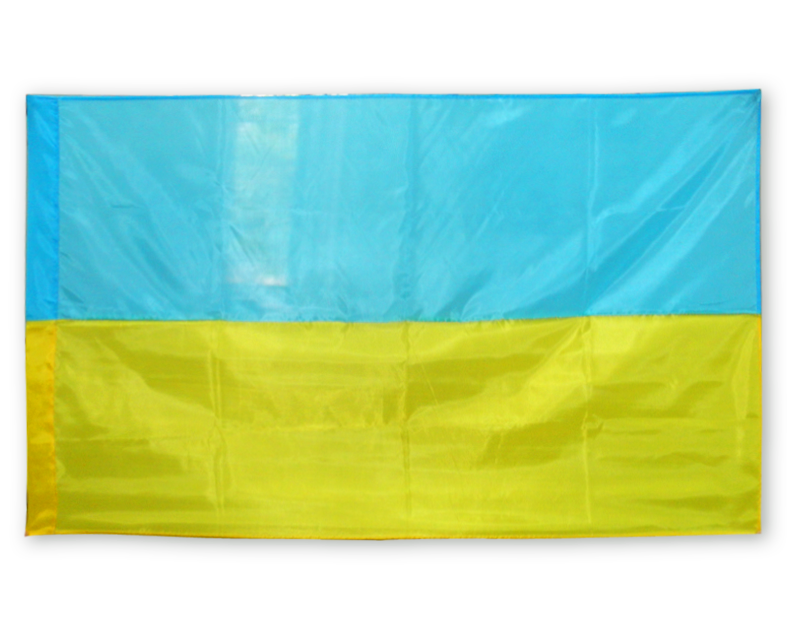 "Флаг ""Украина"" желто-голубой / Прапор України жовто-блакитний."