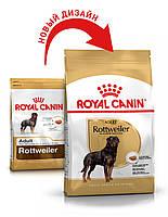 Сухой корм 12 кг для породы Ротвейлер Роял Канин / ROTTWEILER ADULT Royal Canin