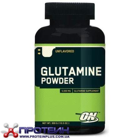 Glutamine powder (300 g, unflavored) Optimum Nutrition