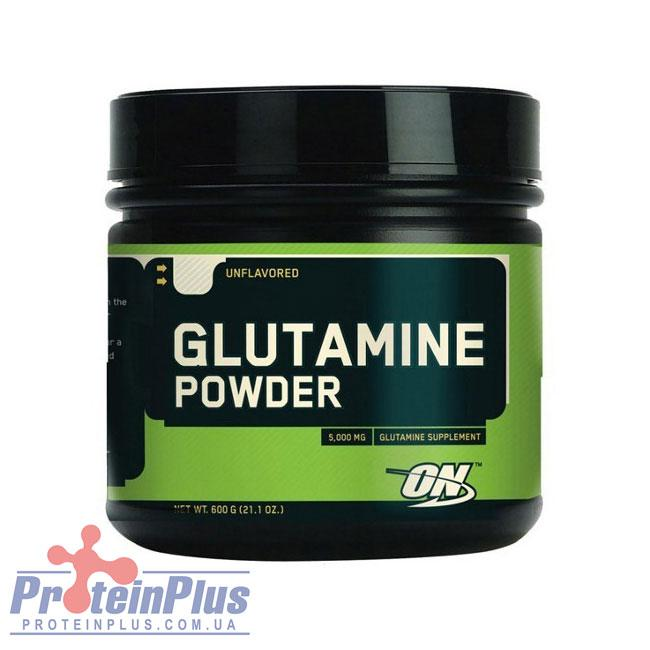 Glutamine powder (600 g, unflavored) Optimum Nutrition