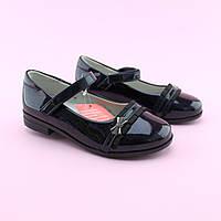 Туфли синие с ремешком для девочки тм Том.М размер 29,31,33
