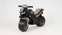Каталка-толокар - Беговел детский. Мотоцикл ORION 501-B. Черный