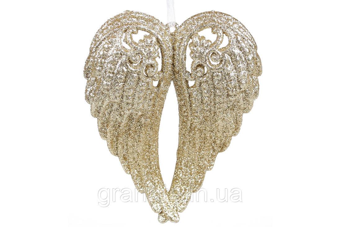 Ёлочная украшение Крылья ангела 15см (45 шт)