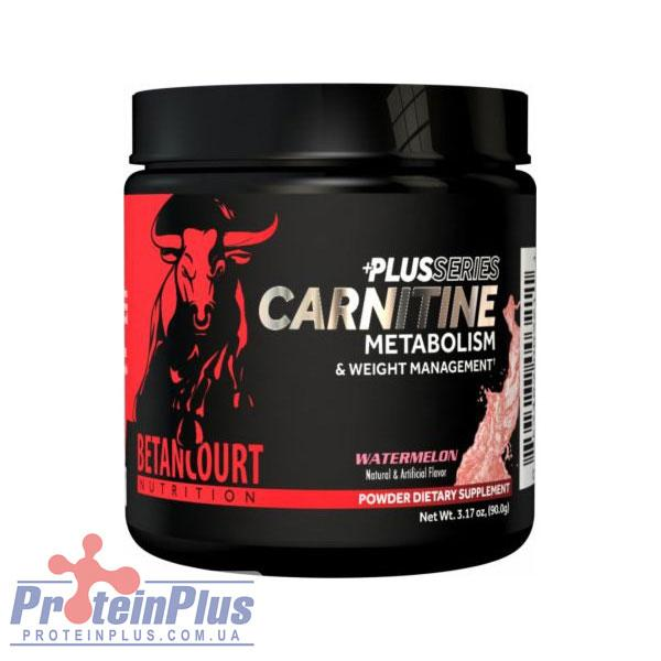 Carnitine +plus series (90 g) Betancourt nutrition