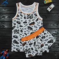 Комплект детский Donella белый для мальчика на 6/7 лет   1шт.
