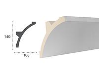 LED профили Tesori KF 708 ,лепной декор из полиуретана.
