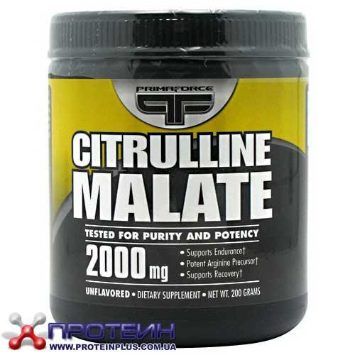 Citrulline Malate (200 g, unflavored) PrimaForce