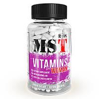 Витамины и минералы MST Nutrition Vitamins for Woman (90 капс)