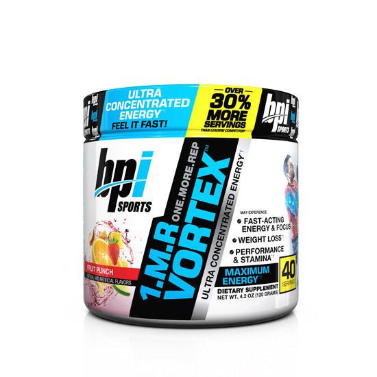 1.M.R Vortex 40 serv (120 g, fruit punch) BPI sports