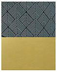 Коляска Bexa Light FL-16 черно-серые ромб (золотая кожа) - серый прогулочный блок, фото 5