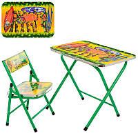 """Комплект (столик + стульчик) """"Черепашки-ниндзя"""" А19-NJ"""