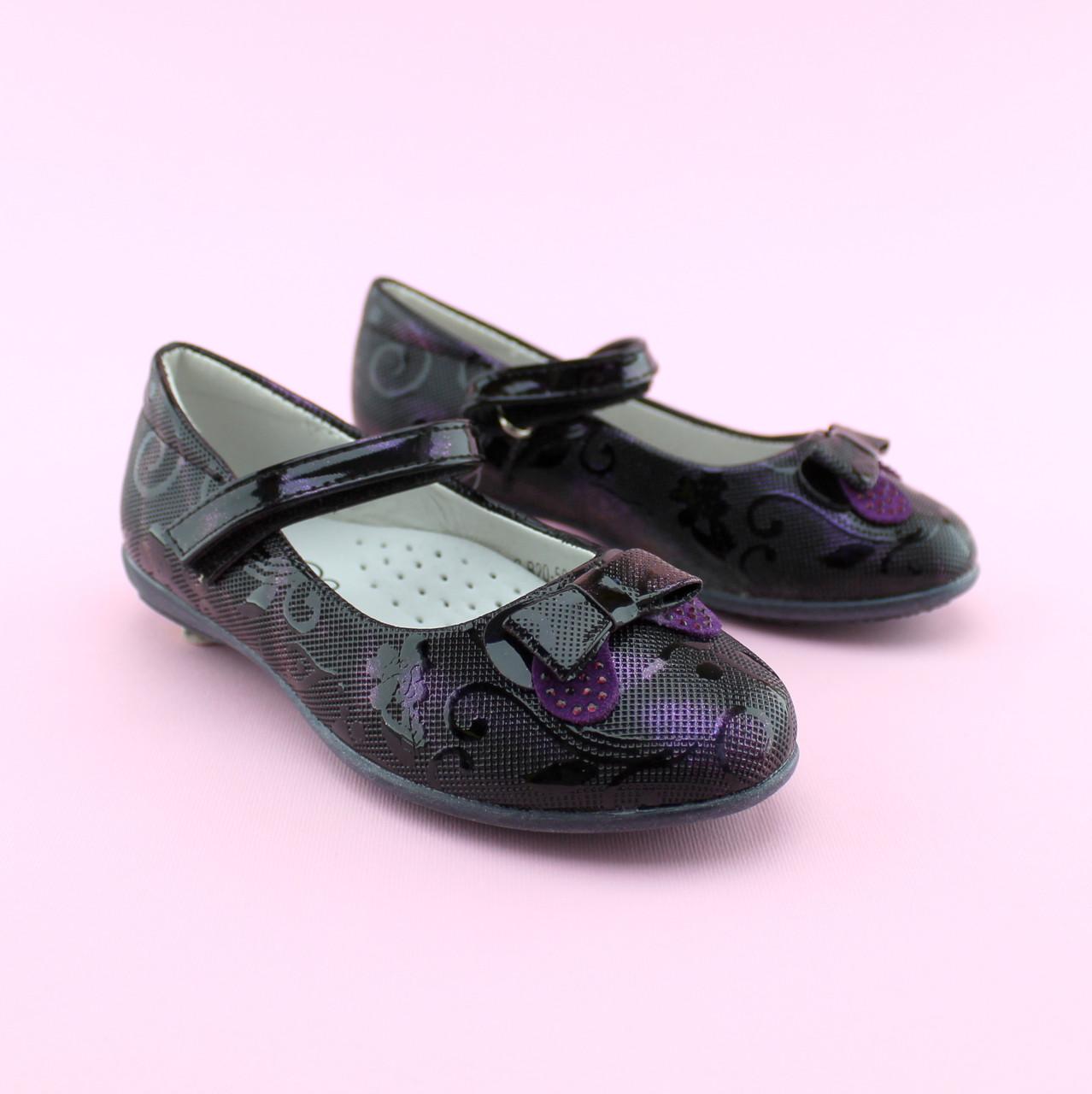 Туфли для девочки Фиолет тм BI&KI размер 27,28,29,32