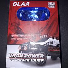 Фары противотуманки DLAA 555 голубые 8566p