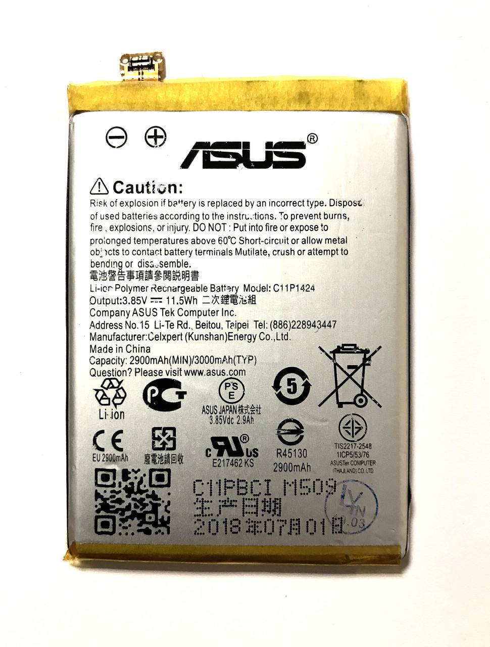Asus C11P1424 Zenfone 2 ZE550ML ZE551ML Аккумулятор Батарея