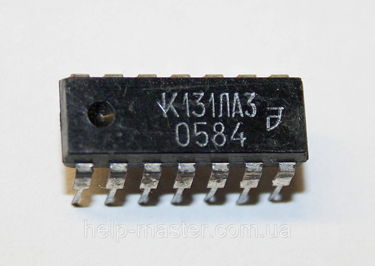 Микросхема К131ЛА3 (DIP-14)